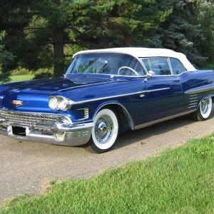 1958 Cadillac 62 Convertible