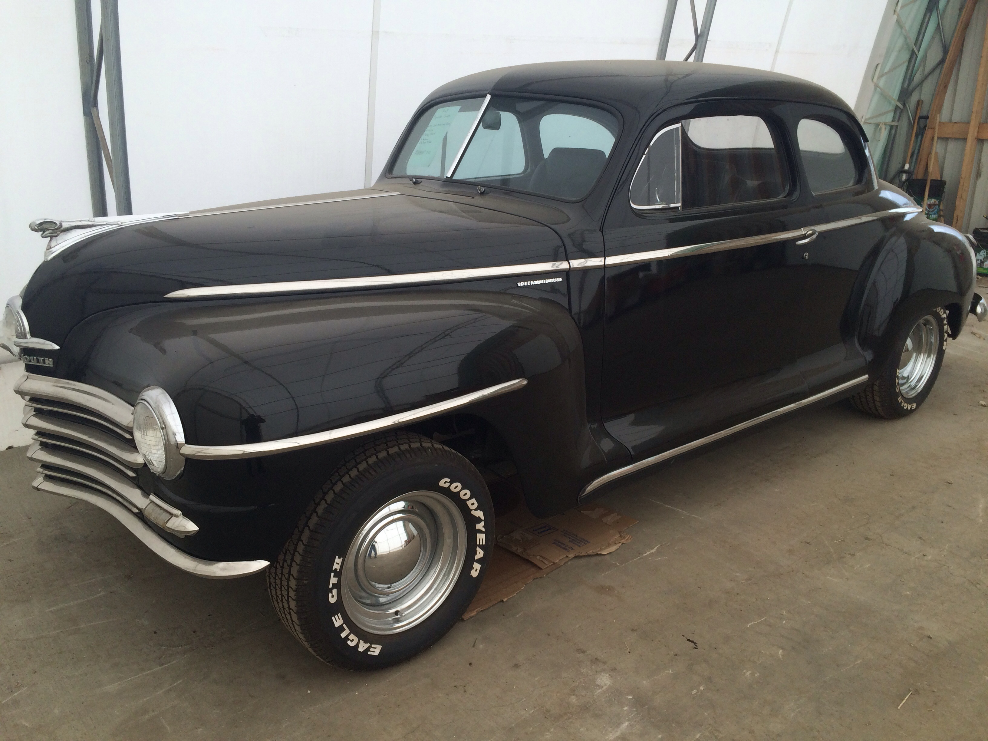 1948 plymouth special deluxe coupe okotoks collector car. Black Bedroom Furniture Sets. Home Design Ideas