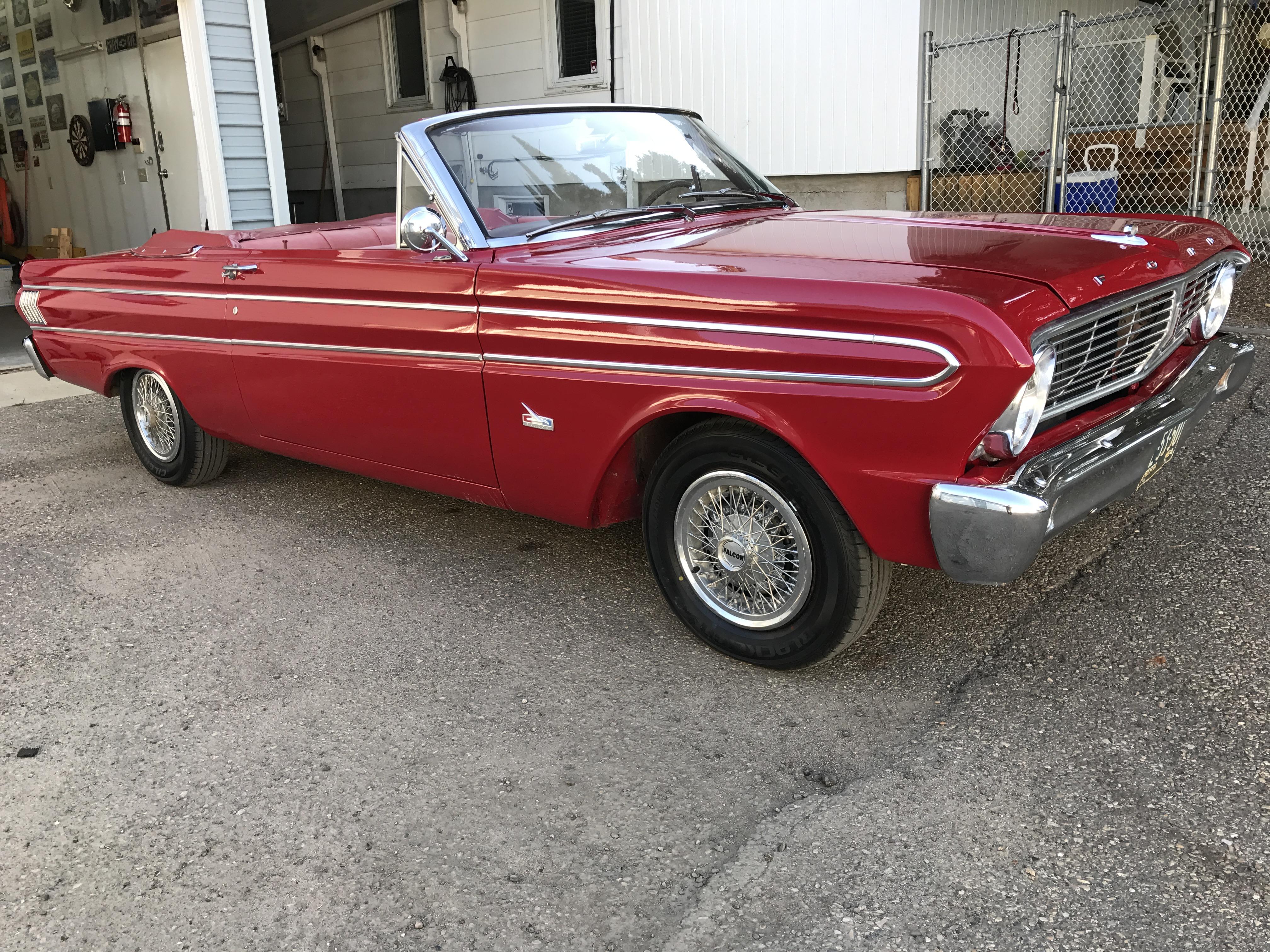 1964 Ford Falcon Futura Convertible Okotoks Collector Car Img 7163