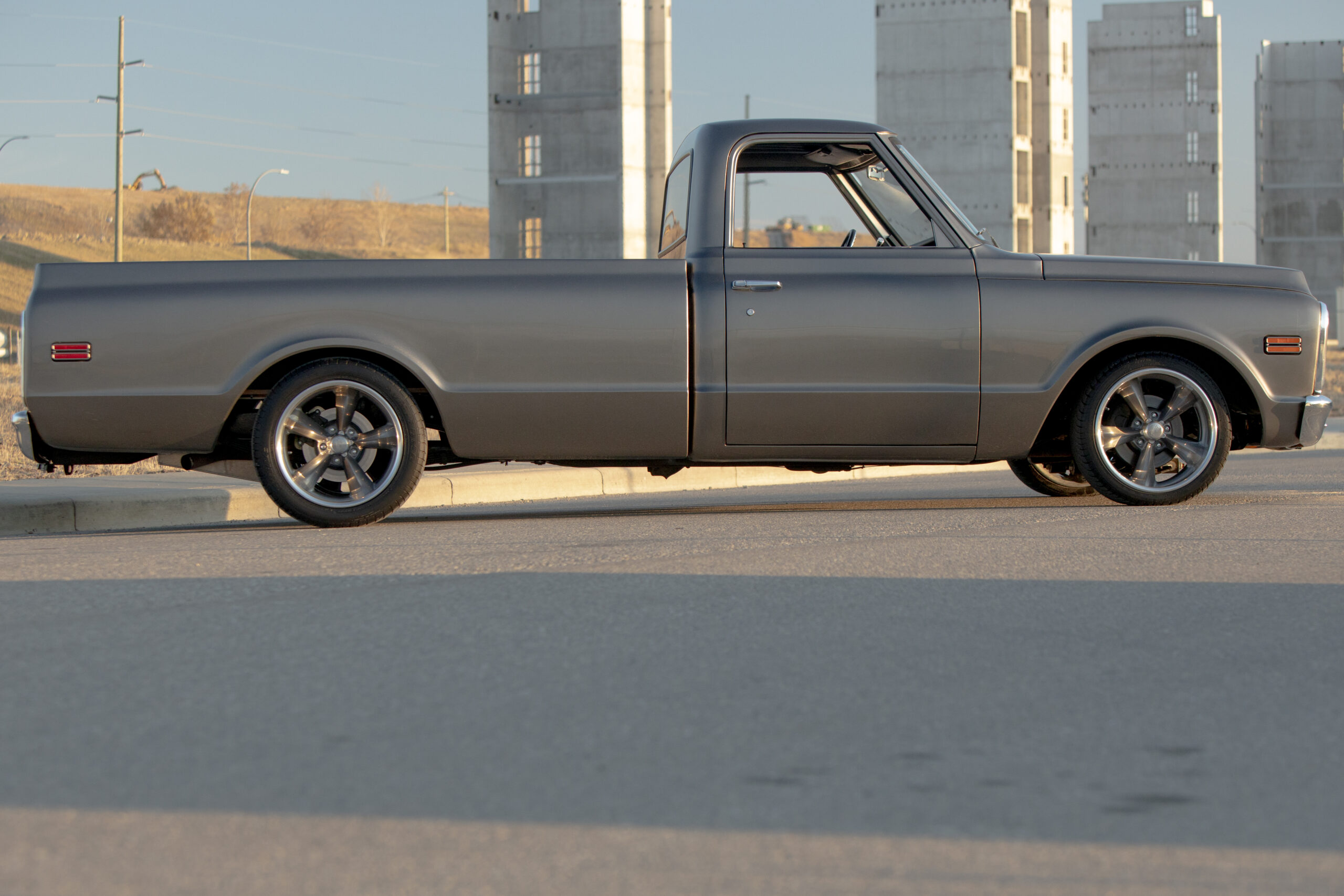 Gordon Williams' 1972 Chevrolet pickup truck photographed on Friday, Oct. 18, 2019 in Calgary, Alta. Britton Ledingham/iEvolve Photo