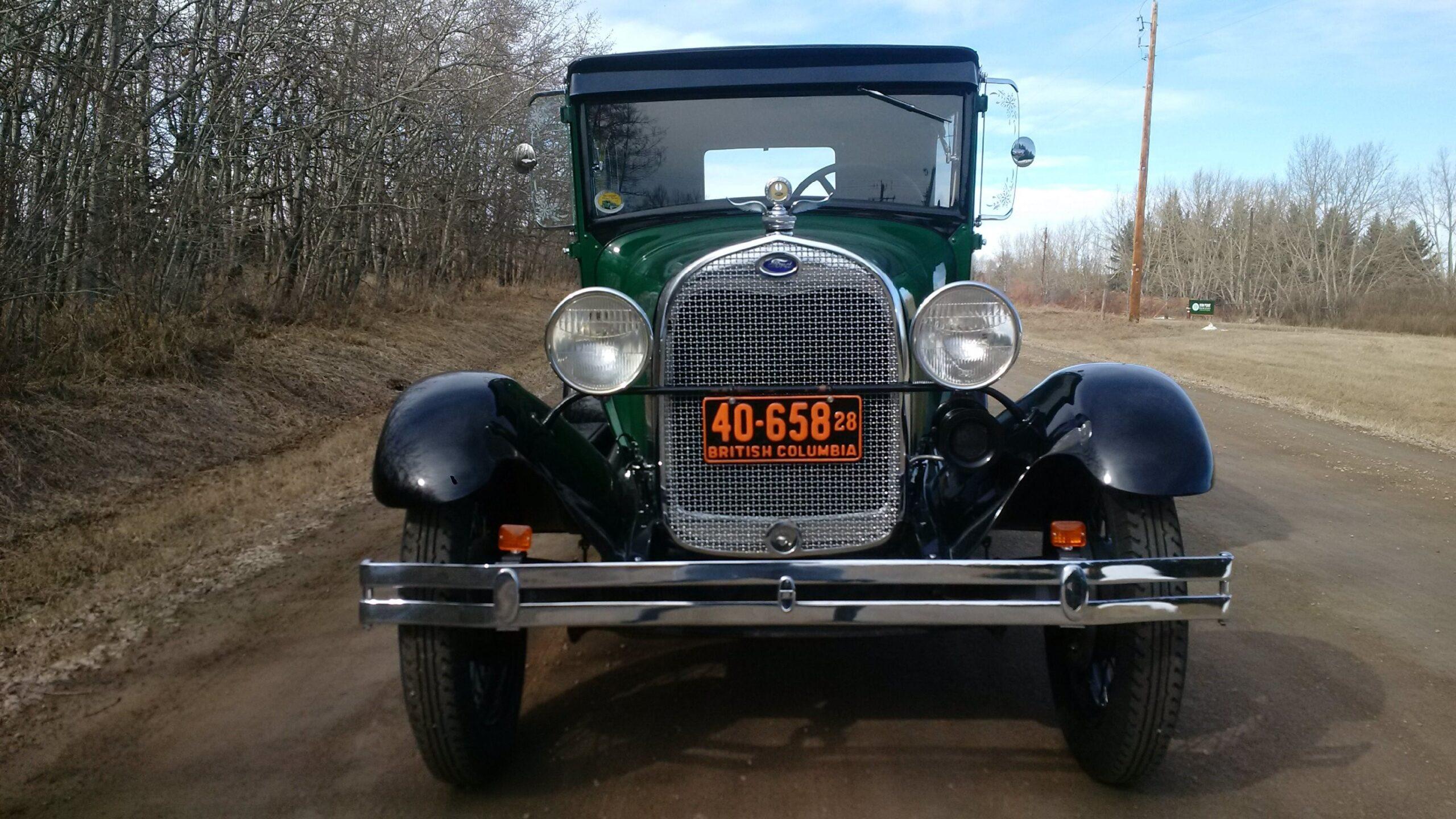 1928 Model A Tudor - Front View
