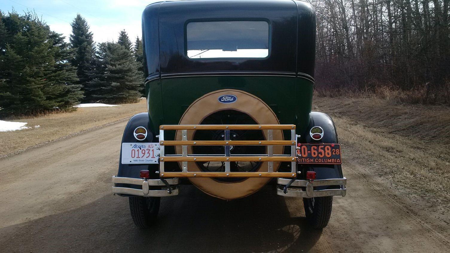 1928 Tudor - Rear View